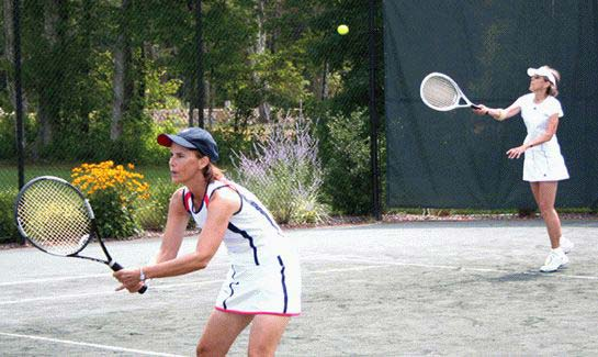 The Club offers year-round racquet sports with 4 Har-tru Hydro courts and 2 Platform tennis courts at Bay Club at Mattapoisett