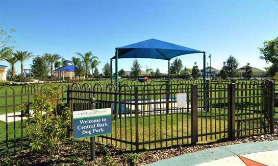 Central Park at Lakewood Ranch includes two dog parks.