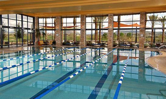 Indoor Olympic Style Pool at Trilogy at Vistancia Golf Club