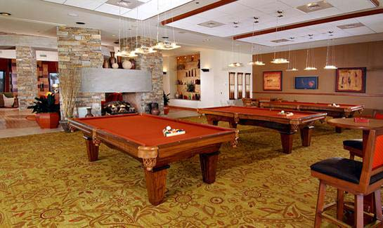 Billiards Room at Trilogy at Vistancia