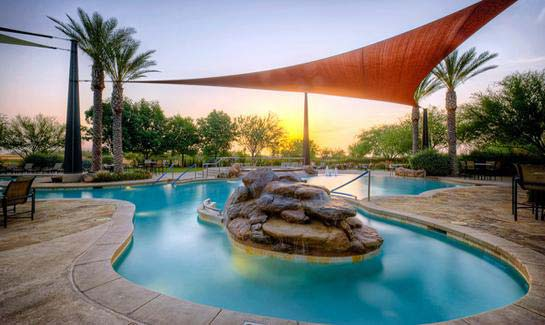 Outdoor Resort Pool at Trilogy at Vistancia