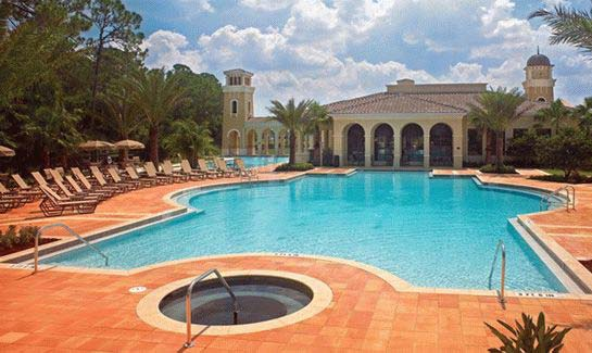 The River Club includes a resort and lap pool at Venetian Golf & River Club