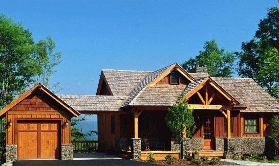 Watson Gap Cottages model home at Blue Ridge Mountain Club