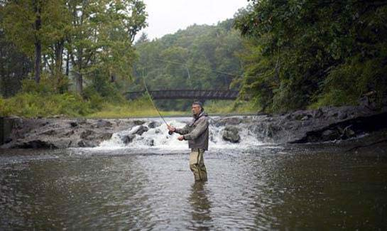 The greenbrier sporting club west virginia mountain for Fly fishing west virginia