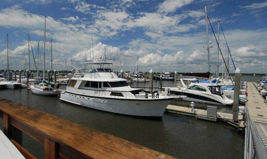 With privately owned deepwater slips and dry storage, The Dataw Island Marina is three miles from the Intracoastal Waterway and 30 minutes from the Atlantic Ocean.