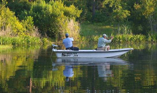 Spring Island has two full-time fishing captains for saltwater, freshwater, offshore and inshore fishing.