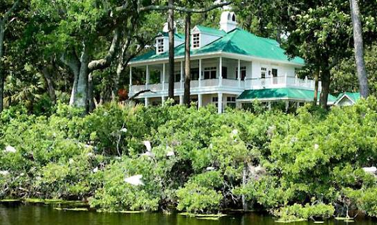 The natural beauty of Spring Island provides a rare canvas for some of the nation's leading architects.