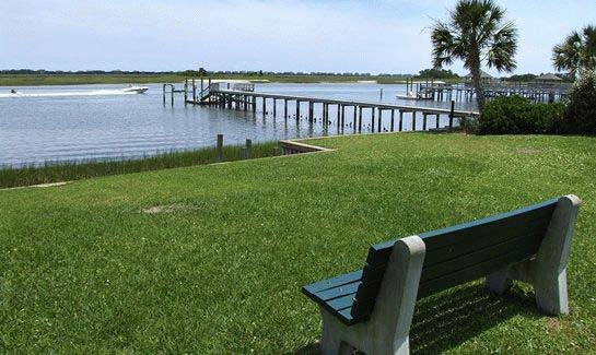 Community Boat Ramp and Picnic Area on the Intracoastal Waterway at Porters Neck Plantation