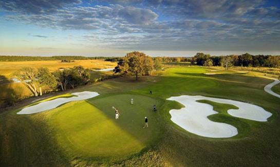 The Daniel Island Club offers two nationally-ranked private golf courses designed by Tom Fazio and Rees Jones.