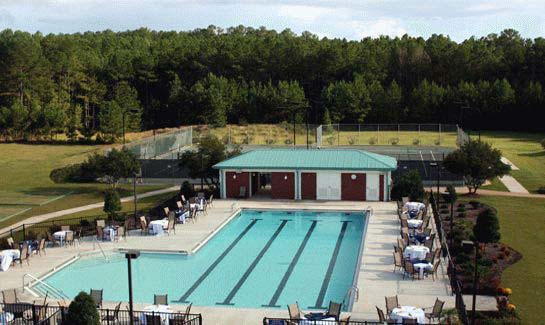 Recreation Complex and the outdoor pool at Savannah Lakes Village
