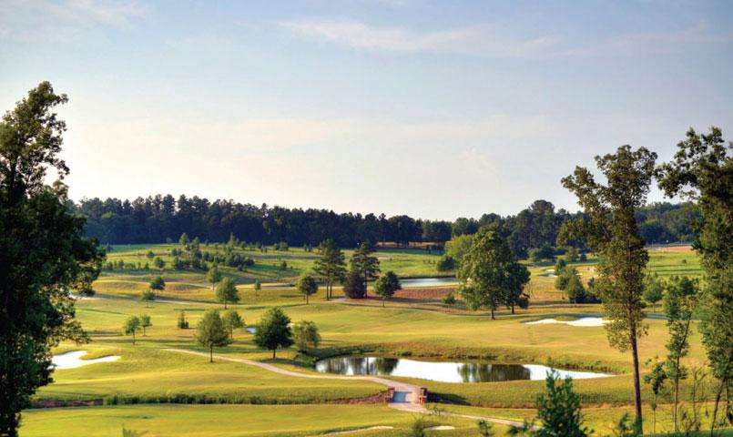 Tom Jackson designed golf course