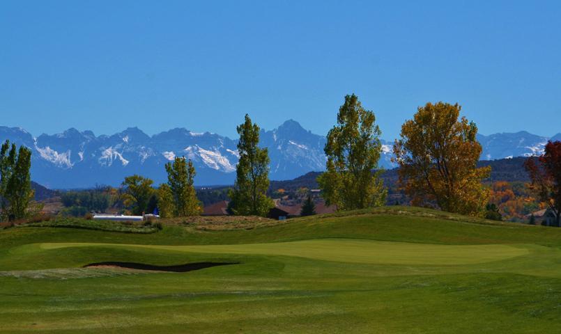 Cobble Creek Mountain Golf Community In Montrose Colorado