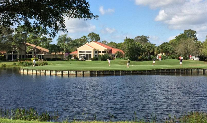 Harbour Ridge Gated Golf Community In Palm City Florida