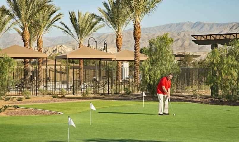 K. Hovnanian's Four Seasons at Terra Lago, Indio, California Putting Green