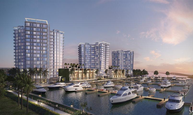 Marina Pointe Gated Community In Tampa Florida