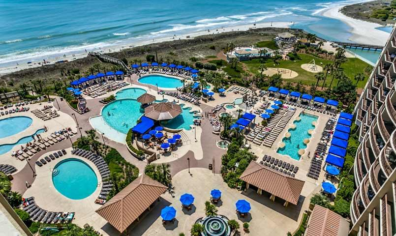 Oceanfront Gated Community North Myrtle